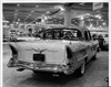 """1957 Packard Clipper, sign in license plate holder reads """"Arctic White Lilac"""""""
