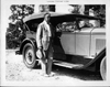 1927 Packard phaeton with owner Clifford Walker, governor of Georgia