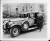 1928 Packard sedan limousine with owner Glenn Frank