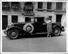 1930 Packard convertible coupe with owner opera singer, Anna Case
