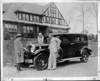 1930 Packard sedan delivered by Ed Bennett to comic strip creator Russ Westover