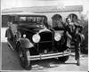 1930 Packard sedan and owner Benito Corona