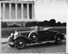 1931 Packard convertible coupe with Nancy Sheridan of the National Theatre Players