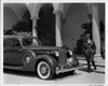 1935 Packard sedan and owner film star Harold Lloyd