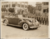 1939 Packard convertible of King Faruk I of Egypt, inspecting his troops