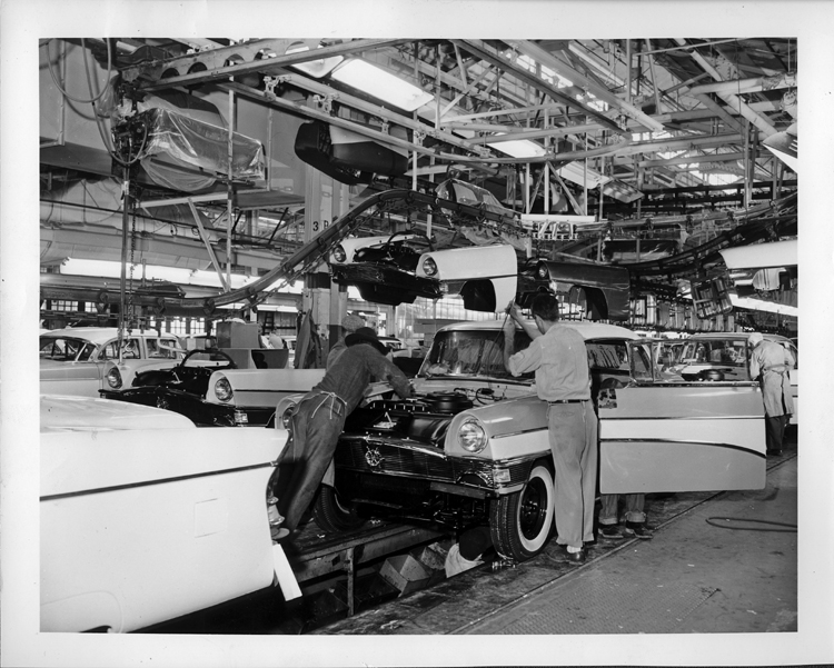 The making of modern michigan digitizing michigan 39 s for Telephone number for ford motor company