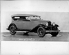 1932 Packard prototype sport phaeton, three-quarter front right view, top raised