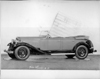 1932 Packard prototype phaeton, nine-tenths left side view, top folded