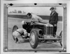 1926 Miller 91 race car being checked on track