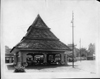 Packard dealership exhibit pavilion, Semarang, Dutch East Indies, 1930