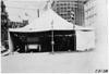 Inspection tent for the 1909 Glidden Tour, Detroit, Mich.
