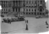 Preparations for the 1909 Glidden Tour in front of the Wayne County building, Detroit, Mich.