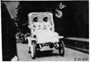 Decorated car with female driver and passenger in the 1909 Glidden Tour automobile parade, Detroit, Mich.