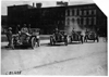 Participating cars in the 1909 Glidden Tour automobile parade, Detroit, Mich.