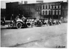 Premier team in the 1909 Glidden Tour automobile parade, Detroit, Mich.