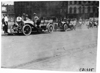Four Premier cars in the 1909 Glidden Tour automobile parade, Detroit, Mich.