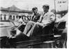 Ty Cobb in the Chalmers-Detroit car, 1909 Glidden Tour automobile parade, Detroit, Mich.