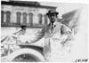 Participating driver in 1909 Glidden Tour automobile parade, Detroit, Mich.