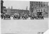 Regal car and escort, 1909 Glidden Tour, Detroit, Mich.