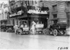 Pacemaker car parked in front of Pontchartrain Hotel, 1909 Glidden Tour, Detroit, Mich.