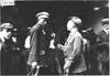 F. Ed Spooner and R. Davis in conversation, 1909 Glidden Tour , Detroit, Mich.