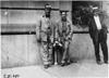 Two Glidden tourists waiting for start of the 1909 Glidden Tour, Detroit, Mich.