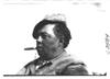 Man with cigar waiting for start of 1909 Glidden Tour, Detroit, Mich.