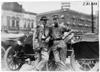 Two men waiting for start of 1909 Glidden Tour, Detroit, Mich.