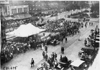 General view of race preparations for the 1909 Glidden Tour, Detroit, Mich.