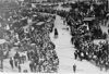 General view of start of the 1909 Glidden Tour, Detroit, Mich.