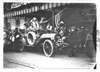 Premier car in front of Pontchartrain Hotel at start of the 1909 Glidden Tour, Detroit, Mich.