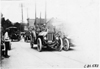 Cars passing through Jackson, Mich., in 1909 Glidden Tour