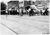 Crowd watching arrival of cars in Kalamazoo, Mich., 1909 Glidden Tour