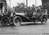 Webb Jay in Premier car arriving in Kalamazoo, Mich., 1909 Glidden Tour