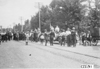 Cars arriving in South Bend, Ind. at 1909 Glidden Tour
