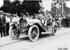 Jack Shimp in Jewell car in South Bend, Ind. at 1909 Glidden Tour