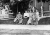 Glidden tourists with Milwaukee women at 1909 Glidden Tour