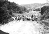 Shimp in Jewell car near Baraboo, Wis., at 1909 Glidden Tour