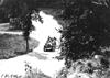 William Bolger in Chalmers car entering Elroy, Wis., 1909 Glidden Tour