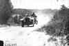 Pierce car climbing a hill at the 1909 Glidden Tour
