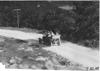 Glidden tourists passing through Pleasant Valley, Minn., at 1909 Glidden Tour