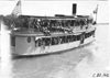 Puritan excursion boat filled with passengers on Lake Minnetonka, at 1909 Glidden Tour