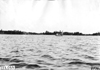Puritan excursion boat as seen from a distance on Lake Minnetonka, at 1909 Glidden Tour