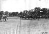 Mounted soldiers on parade at Fort Snelling, Minn., at 1909 Glidden Tour