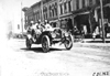 J.M. Wicks in Moline car passing through Faribault, Minn., at 1909 Glidden Tour