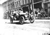 W.S. Gregory in Moline car passing through Faribault, Minn., at 1909 Glidden Tour