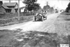 Chairman Hower leading the cars into Mankato, Minn., at 1909 Glidden Tour