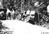 Rapid truck in ditch near Algona, Iowa, at the 1909 Glidden Tour