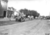 Glidden tourists passing through Grand Junction, Iowa at the 1909 Glidden Tour