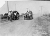 W. Winchester in Pierce car on rural road near Kearney, Neb., at 1909 Glidden Tour